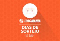 dias de sorteio da lotomania