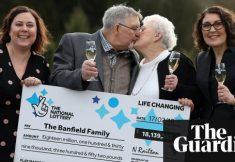 os mais velhos ganhadores de loteria