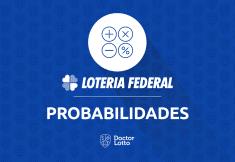 probabilidade loteria federal