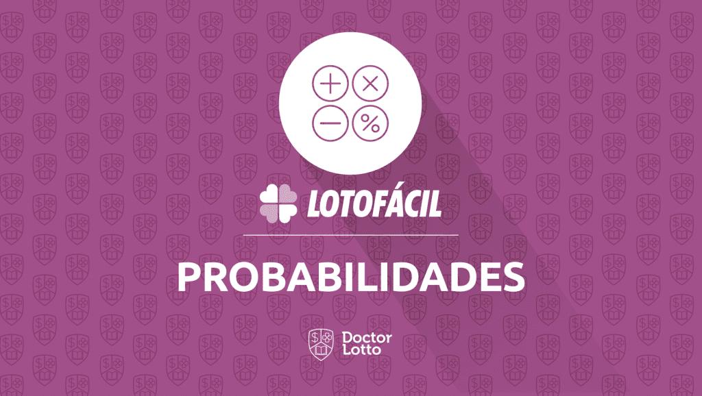 probabilidade lotofacil