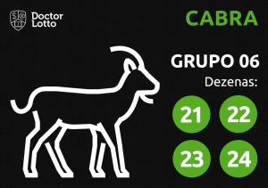 Grupo 06 - Dezenas da Cabra - Jogo do Bicho
