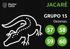 Grupo 15 - Dezenas do Jacaré - Jogo do Bicho