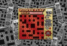 loteria power play gold crossword