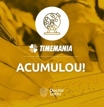 Resultado da Timemania 1216 sai nesta quinta; prêmio principal pode chegar a R$ 3 milhões