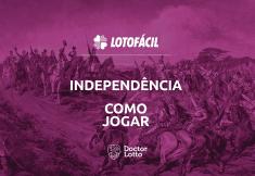 como jogar lotofácil independência