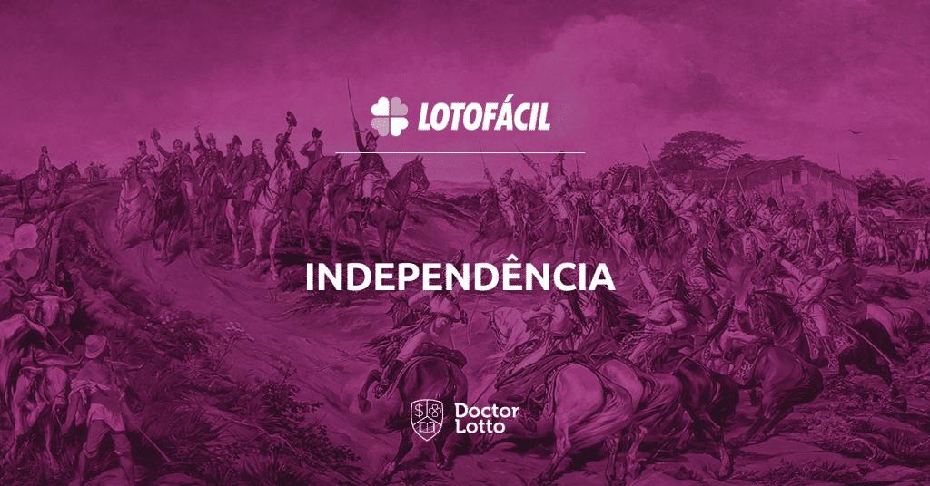 lotofácil 1861 da independência 2019