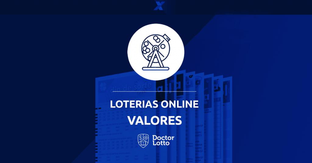 valor loterias online