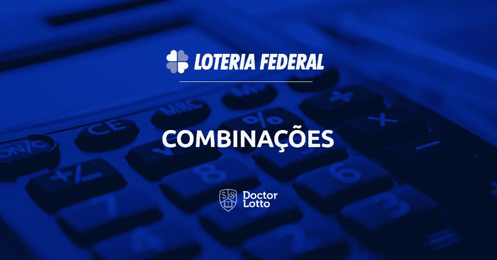 combinações loteria federal