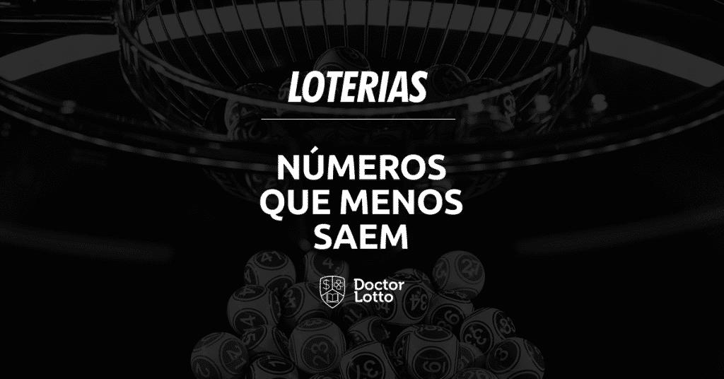 números que menos saem na loteria
