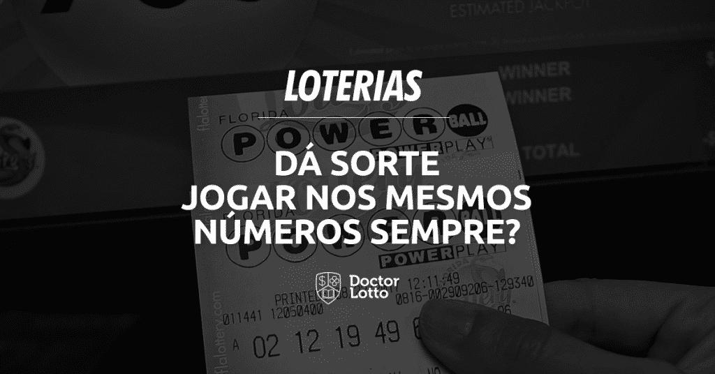 jogar nos mesmos números nas loterias