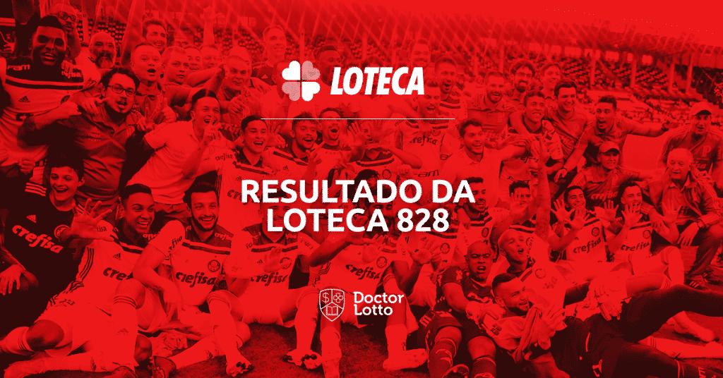 loteca 828 resultado