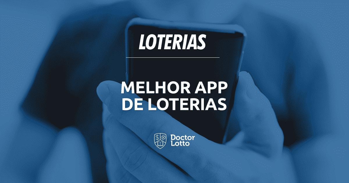 melhor app de loterias