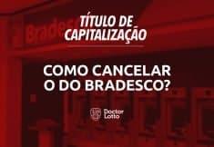 cancelar titulo de capitalização bradesco