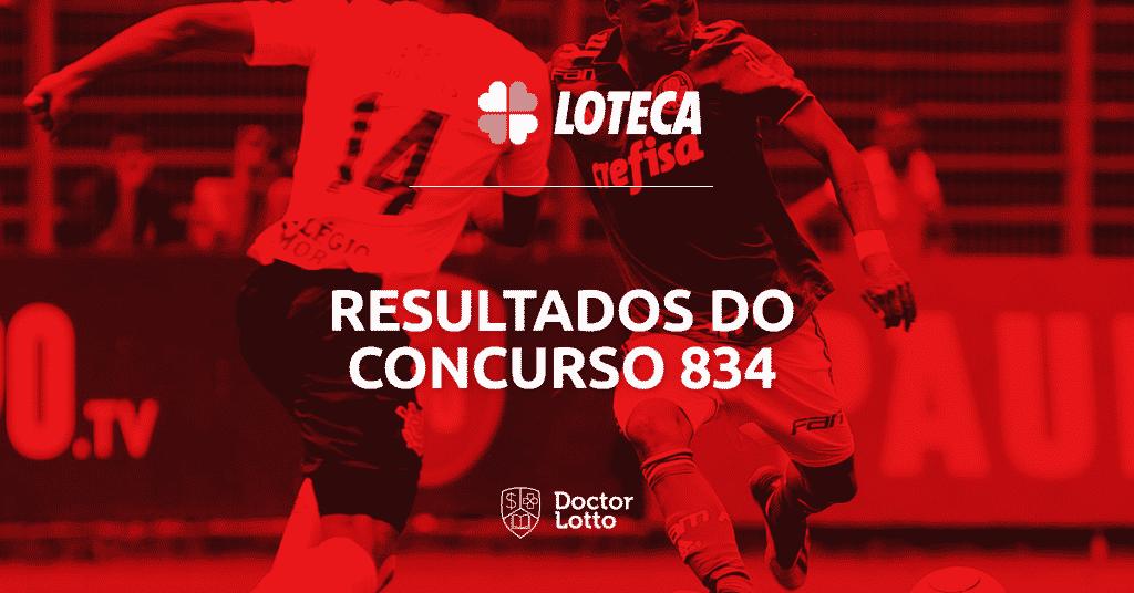 resultado loteca 834