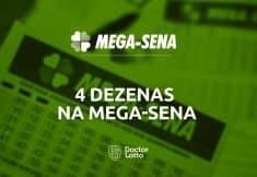 acertar 4 números na mega-sena