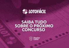 Sorteio Lotofácil 1972