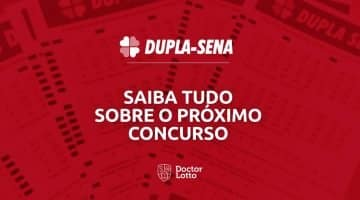 Sorteio Dupla Sena 2041