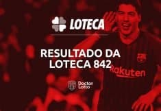 resultado loteca 842