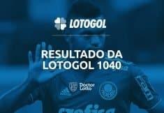 programacao resultado lotogol 1040