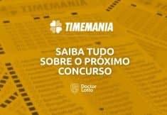 Sorteio da Timemania 1589