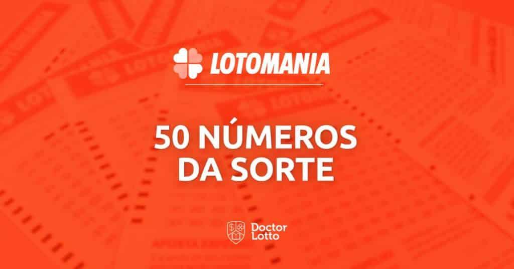 4eba81c06d559 Saiba como encontrar seus 50 números da sorte na Lotomania