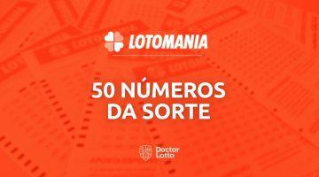 50 números da sorte na Lotomania