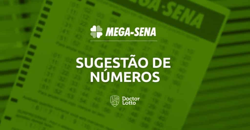 Sugestão de números para Mega-Sena