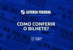 como conferir o bilhete da Loteria Federal