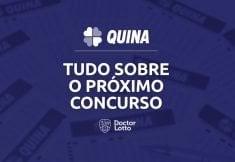 Sorteio Quina 5284