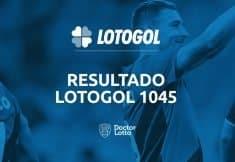 resultado da lotogol 1045