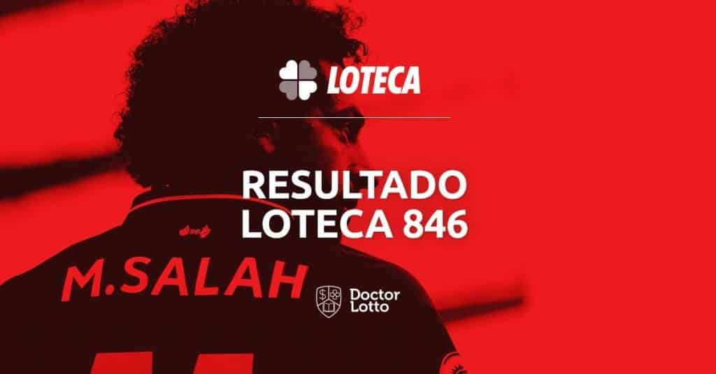 resultado palpites da loteca 846 salah