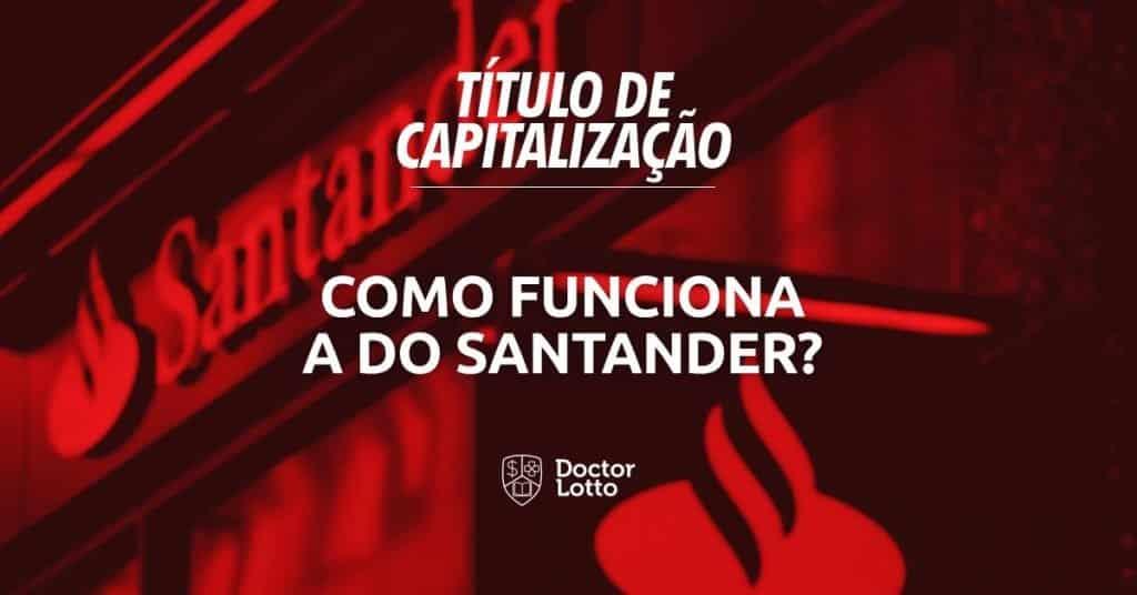 Capitalização Santander