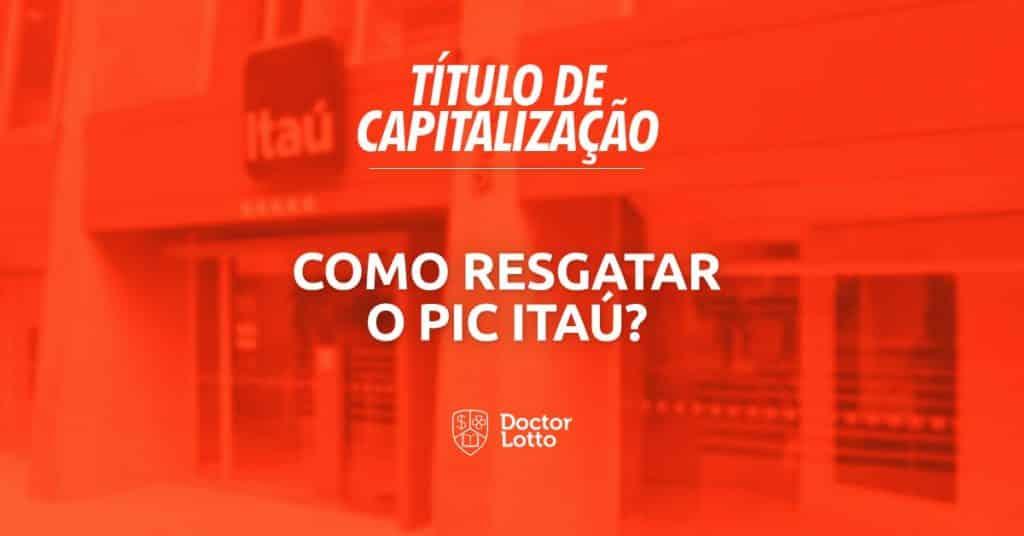 Resgatar PIC Itaú