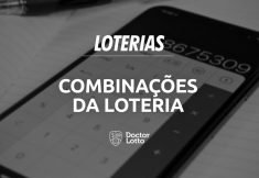 combinações da loteria