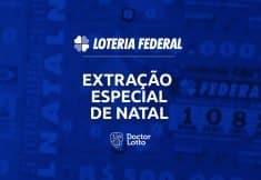 extração especial de natal loteria federal