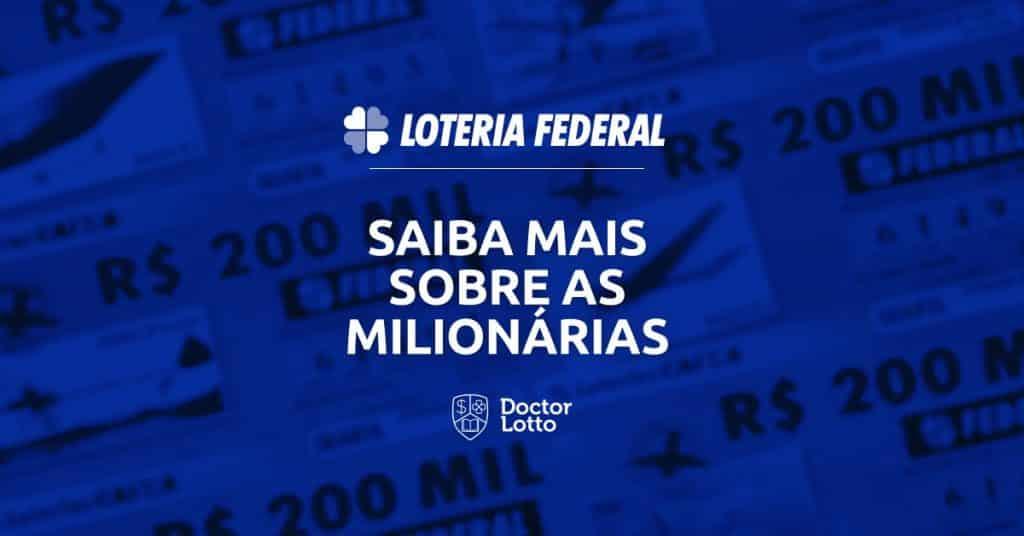 loteria federal milionária