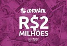 Lotofácil 1899: Prêmio está estimado em R$ 2 milhões