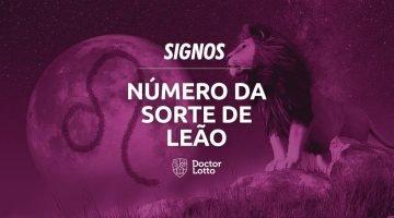 número da sorte de leão