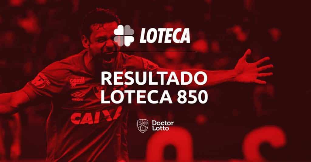 resultado palpites programacao loteca 850
