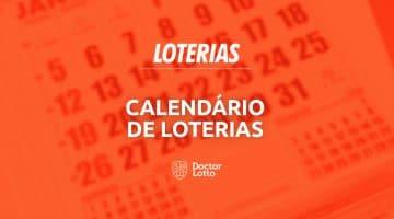 calendário loterias