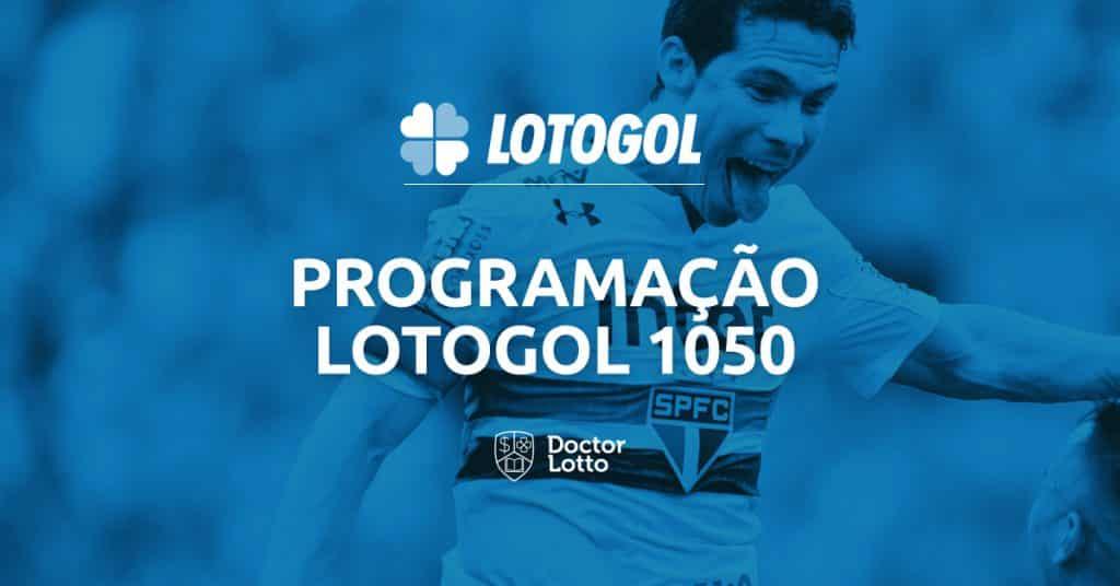 programação e palpites lotogol 1050