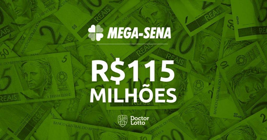 mega-sena 2160 premio 115 milhoes