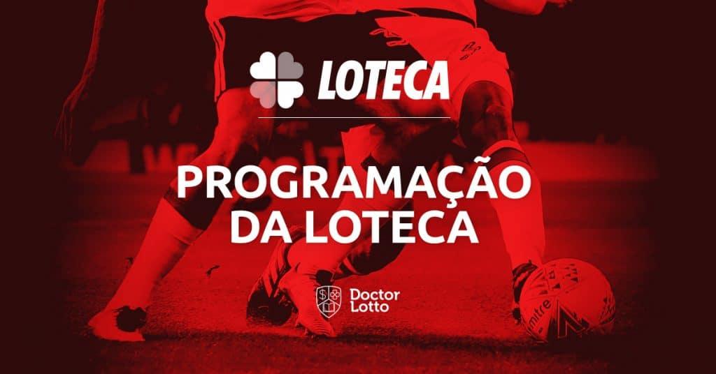 Programação da Loteca 869