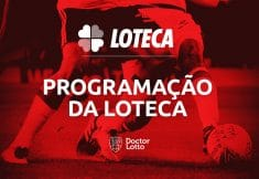 Programação da Loteca 865