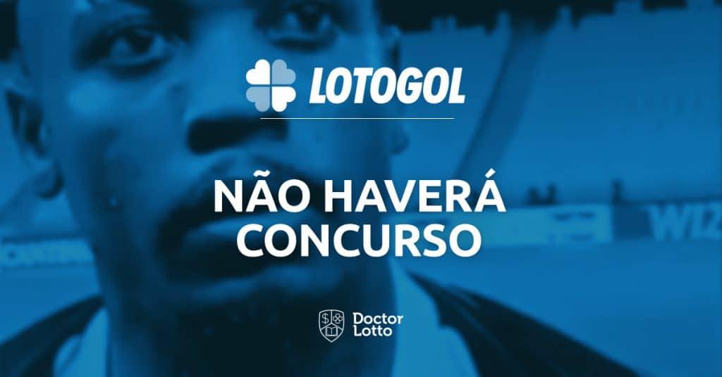 programação da lotogol não haverá concursos