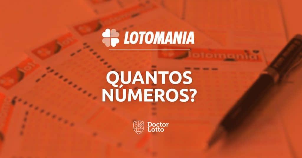 quantos números posso jogar na lotomania