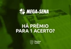 1 número na Mega-Sena