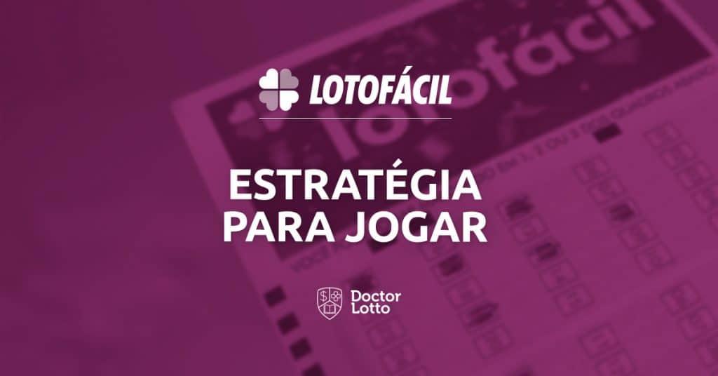 lotofacil estrategia