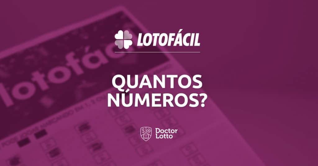 quantos números posso jogar na lotofácil