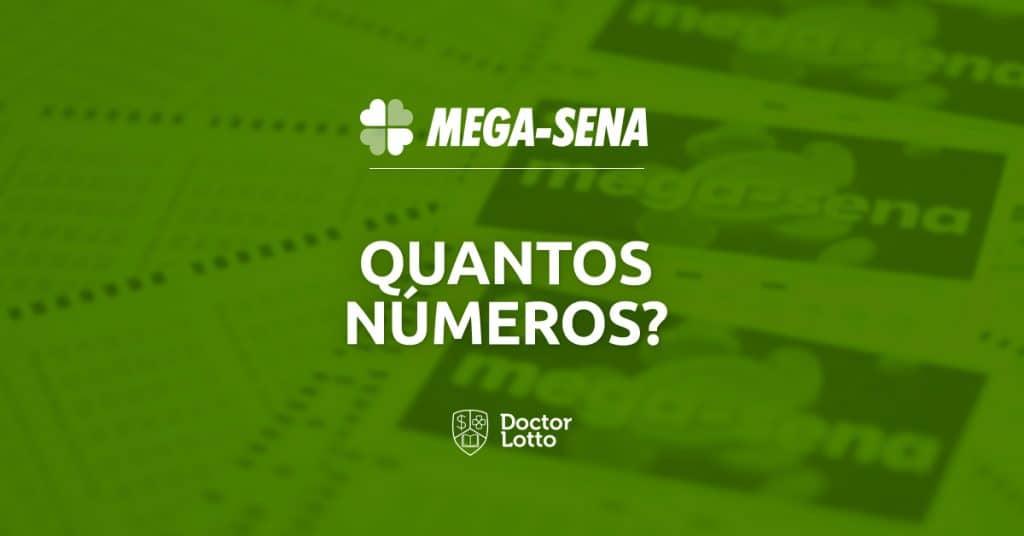 quantos números posso jogar na mega-sena